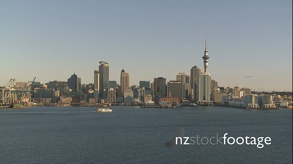 Auckland Harbour TIMELAPSE 3616