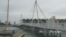 Viaduct Harbour Lift Bridge TIMELAPSE 3617