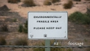 Pine Creek Environmentally Fragile Sign, Australia 1 3834
