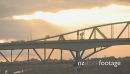 Auckland Harbour Bridge Sunset TIMELAPSE 3857