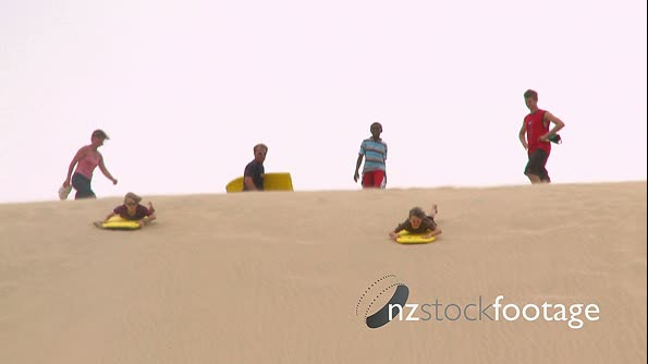 Boys on Sand Dune Buggy Boards 1 3870