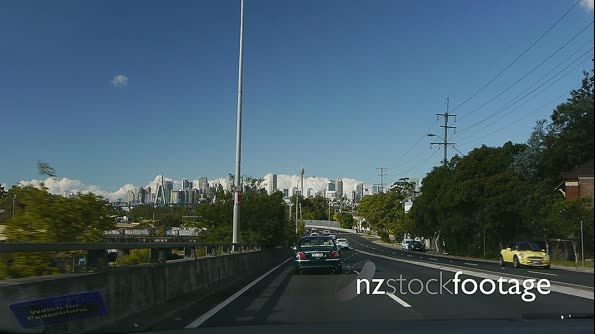 Sydney City car POV 1 4086