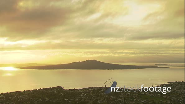 Rangitoto Is Golden Light  1 4344
