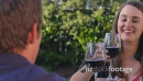 Couple Drinking Red Wine 4 4473