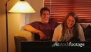 Couple Watch TV Enjoyment Laugh 2 4492