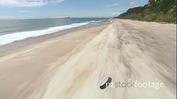 Coastal New Zealand White Sandy Beach 1 4528