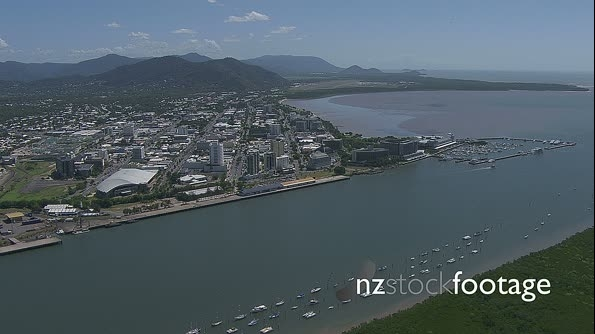 Cairns Harbour Approach Australia Aerial 4 4739