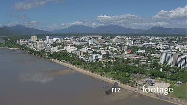 Cairns Harbour Approach Australia Aerial 2 4742