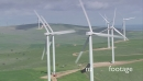Wind Farm On Hill HD Aerial  2 4746