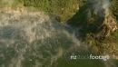 Steaming Geothermal Vents on Lake New Zealand HD Aerial 1 4751