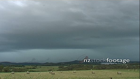 Lightning over Mt Canobolis Australia 4779