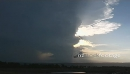 Incredible rotating storm timelapse at sunset 4790