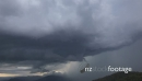Storm and Rain Time Lapse over Mountains and Valley 4836