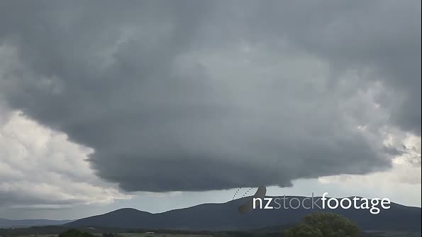 Rotating Storm Time Lapse over Mountains! 4858