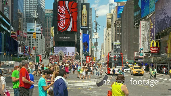 Times Square, New York TIME LAPSE 4897