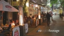 a nightlife patio bar scene in downtown Auckland 5013