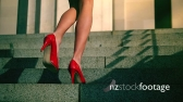 Woman's Legs and Red Shoes 3 5053