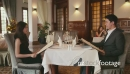 Young Couple Eating In Luxury Restaurant 5159
