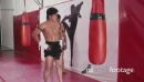 Men Exercising For Combat Sport In Fitness Gym 5201