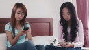 Asian Girls Using Smart phone For Facebook And SocialNetwork In  5212