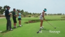 Group Of Men And Women Playing Golf 5257