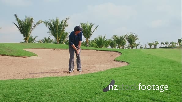 Professional Golfer And Sport Activity On Golf Course 5268