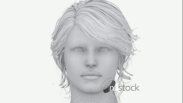 Ageing Woman Animation 5487