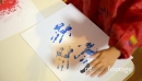 Children Painting With Hands In Kindergarten School 6133