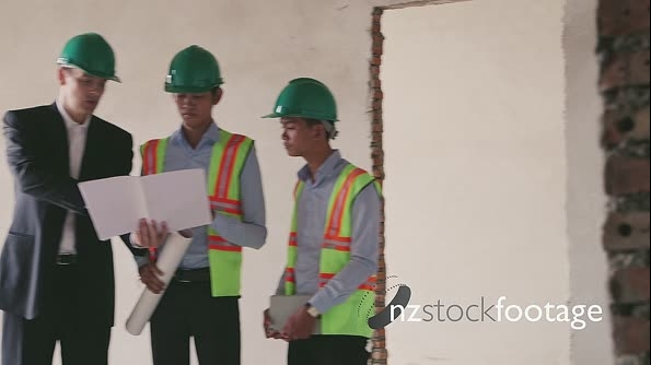 Teamwork Architects And Engineer At Work In Construction Site 6138