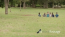 Slow Motion With Team Of Kids Playing Soccer Game With Football  6205