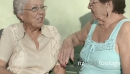 Old Female Friends Talking And Laughing 6298