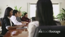 Asian Female Manager Portrait During Meeting At Work 6333