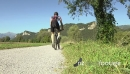 Man Riding Mountain Bike On Countryside Track 6371